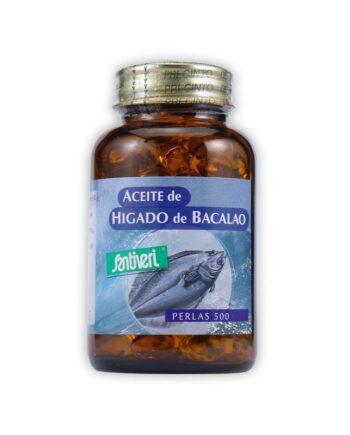 ACEITE HIGADO BACALAO PERLA500